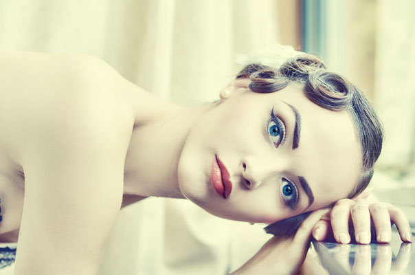 Schönes Haar durch Haartransplantation